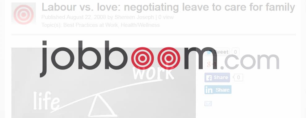 Labour vs. love: negotiating leave to care for family