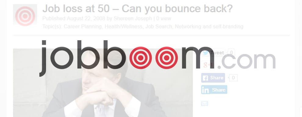 Job loss at 50 – Can you bounce back? - Careers by Design