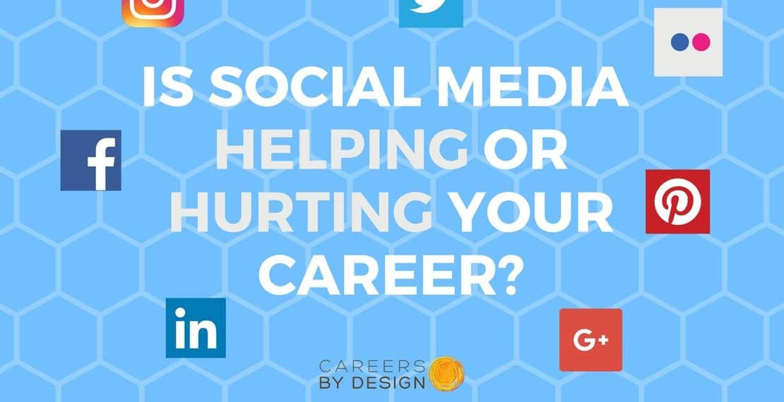 Is social media helping or hurting your career?