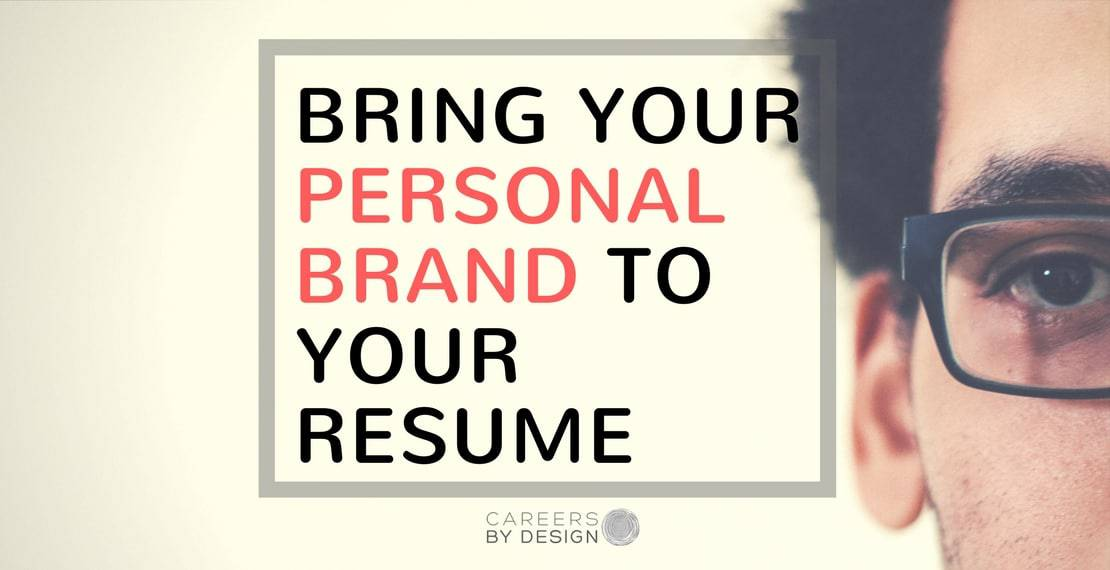 Personal Branding and Your Resume